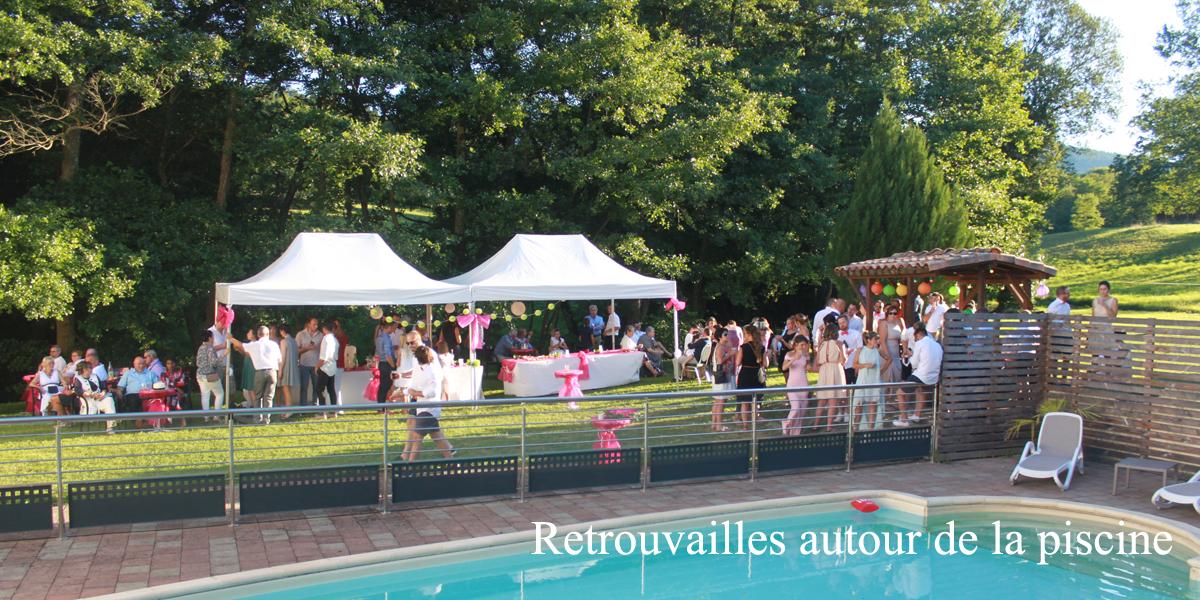 Domaine des tourni s location salles de r ception for Piscine foix